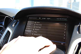The voice-activated system in Will Sowards' Ford Focus.