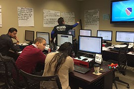 Advocates fielded calls in Washington, D.C., from voters around the country on Election Day in an effort to make sure minority voters knew where and how to vote and to head off any problems with voters being turned away.