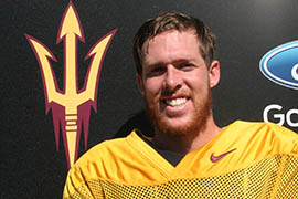 Arizona State quarterback Taylor Kelly said the Sun Devils are prepared mentally for what's expected to be a chilly road game at Oregon State.