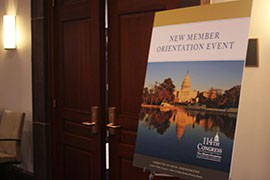 Republican Martha McSally's win in Arizona's 2nd District in Congress is not yet official, but she has claimed victory and joined incoming members for orientation at the Capitol.
