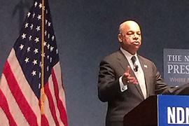 Homeland Security Secretary Jeh Johnson said President Barack Obama's executive action on immigration would be