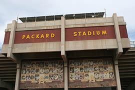 Arizona State's baseball team has used Packard Stadium for four decades.