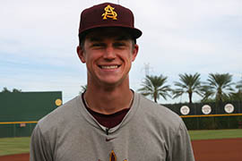 Johnny Sewald, a junior center fielder for Arizona State, said the deeper outfield at Phoenix Municipal Stadium means the Sun Devils will need to become more of a line-drive team rather than focusing on hitting home runs.