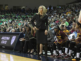 Arizona State women's basketball coach Charli Turner Thorne said she sees plenty of advantages to recruiting locally, starting with players having a support system nearby.