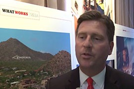Phoenix Mayor Greg Stanton joined other mayors from around the country who were invited to Washington to talk about successful initiatives in their cities.