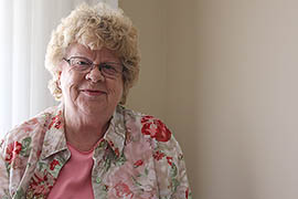 Danielle Stephens, shown in her Kingman home, is president of the Mohave County Downwinders, a group seeking to have the southern portion of the county included in the federal program for compensating those exposed to radiation from atomic tests decades ago.