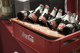 Customs and Border Protection officers in Nogales intercepted a load of drugs in this altered Coca-Cola case after noticing that the bottles, which were attached to a board, didn't jiggle or rattle.