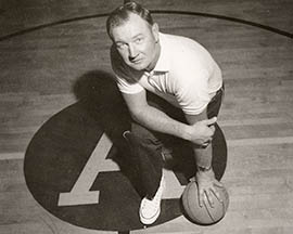 Ned Wulk, who joined Arizona State as basketball coach in 1957, led the Sun Devils to three NCAA tournament Elite Eights and won nearly 500 games.
