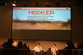 Cronkite News journalists who helped create the documentary