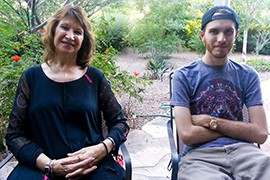 Chandler residents Devon Hancock and his mother, Laurie Hancock, share the first steps they took as an addict and the parent of an addict to break the grip of heroin.