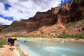 The Colorado River and its tributaries, like the Little Colorado here, generate an estimated $1.4 trillion in economic activity a year throughout the states in the watershed, a new report claims.
