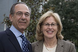 Jean and Howard Somers, advocates for veteran mental health issues, were invited to attend the 2015 State of the Union address as guests of Rep. Kyrsten Sinema, D-Phoenix, and Rep. Scott Peters, D-San Diego.