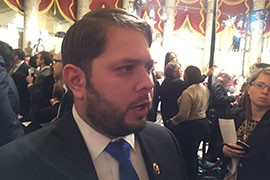 Rep. Ruben Gallego, D-Phoenix, would like to have seen the president focus more on immigration reform, but otherwise called the State of the Union