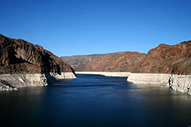 Lingering drought and demand from growing cities have lowered water levels on Lake Mead behind Hoover Dam. A new Arizona State University center named after former U.S. Sen. Jon Kyl will promote conversations about the state's water future.