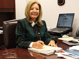 Rep. Karen Fann, R-Prescott, shown in a 2013 photo, is trying again for a law banning any wireless communication use by drivers under age 18.