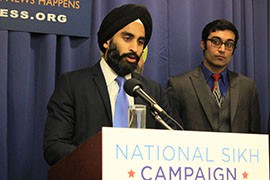 Gurwin Singh Ahuja, co-founder of National Sikh Campaign, said misconceptions about Sikhs have made it hard to communicate their beliefs.