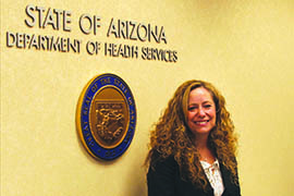 Cara Christ, chief medical officer for the Arizona Department of Health Services, said the current measles outbreak has concerned parents calling about having children vaccinated.