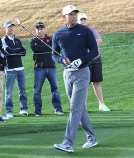 Tiger Woods has not played at the Waste Management Phoenix Open since 2001.