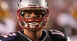 Quarterback Tom Brady and the New England Patriots are accused of using deflated footballs during the AFC Championship game.