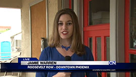 The arts districts in Downtown Phoenix have grown steadily in recent years, but potential future developments could take that all away. Cronkite News reporter Jamie Warren takes us to Roosevelt Row to see what we could soon be missing.