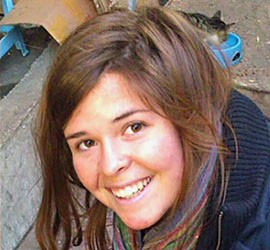 Prescott resident Kayla Mueller was 26 when she was killed in Syria. The White House confirmed the death of Mueller, kidnapped in Syria by ISIS forces in August 2013, but released no details.