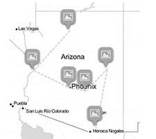 Quagga map