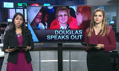 In this episode of Cronkite News, superintendent Diane Douglas speaks out about her role in the firing of two board of education staffers. She also removed media microphones near her seat in the boardroom.