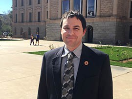 State Rep. J.D. Mesnard, R-Chandler, authored legislation to focus Arizona's law against so-called revenge porn. Following an ACLU lawsuit, he is now proposing revisions.