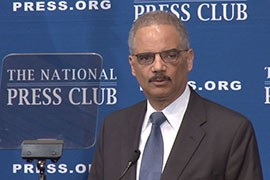 Attorney General Eric Holder said the ruling that blocked the president's immigration action was a decision