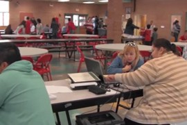 After a last-minute rush to meet the enrollment deadline, the numbers are in for the second year of the Affordable Care Act. Cronkite News reporter <b>Tara Terregino</b> says administration officials point to the numbers as proof that Obamacare is here to stay.