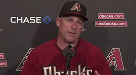 First-time Major League Manager Chip Hale is all about energy and hopes the team is motivated by his enthusiasm. And the Diamondbacks pitchers and catchers report on their expectations of him coming into their first day of spring training.