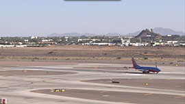 Phoenix Sky Harbor International Airport prepared for this day - its busiest ever - for more than a year. Travelers said that the airport, Phoenix's largest, handled the traffic well. Video by Mackenzie Scott