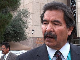 State Rep. Albert Hale said it's important Native American tribes receive their fair share of the taxes collected by the state.