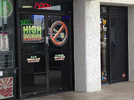 This smoke shop a few minutes' walk from Shadow Mountain High School in north Phoenix has been the focus of complaints from some area residents. A state lawmaker wants to ban smoke shops from within 300 feet of schools, playgrounds and day care centers.