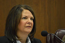 Sen. Kelli Ward, R-Lake Havasu City, chairwoman of the Senate Education Committee, introduced an amendment Thursday that would write into state law that the superintendent of public instruction doesn't have authority over staff members of the State Board of Education.