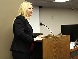 Danna Whiting, Pima County behavioral health administrator, told the Senate Judiciary Committee that there are plenty of shocking examples of how the loophole addressed in a bill by Sen. Adam Driggs, R-Phoenix, causes harm in the community.