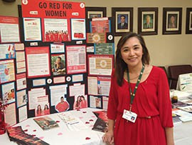 Alma Yap, a nurse at Phoenix Baptist Hospital, said in her experience women tend to ignore stroke symptoms more often than men. The hospital held a Go Red event Friday to educate people about the dangers of strokes, heart disease and diabetes.