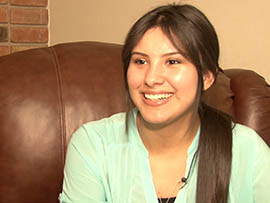 Alondra Lopez, a student at Glendale Community College, said she hasn't been able to apply under the current rules for the Obama administration's Deferred Action for Childhood Arrivals program because she left the country in 2008. She said she plans to apply under expanded rules taking effect Feb. 18.