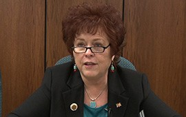 State Sen. Sylvia Allen, R-Snowflake, shown in a 2011 photo, says her service on the five-member Navajo County Board of Supervisors left her thinking that Arizona's open meetings law is too restrictive. She authored a bill to allow members of elected boards to meet out of the public eye unless they are preparing to take action.