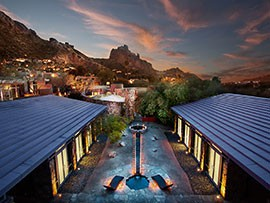 The Sanctuary on Camelback Mountain plans to convert one of its single-family casitas into a treatment room to accomodate larger groups. The project is set for completion by year's end.