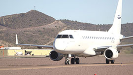 Honeywell Aerospace is flight testing emerging technologies like touch and voice recognition in the cockpit.