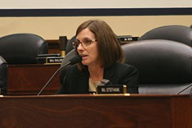 Rep. Martha McSally, R-Tucson, a veteran who flew missions in Iraq and Afghanistan, worried about
