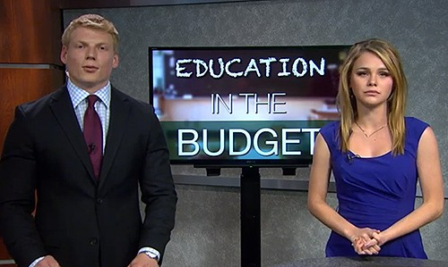 This episode of Cronkite News covers the protests at the State Capitol over the proposed $104 million state budget cuts facing Arizona education.