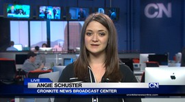 Cronkite News reporter Angie Schuster spoke with Sen. John McCain about Kayla Mueller and the threat from ISIS.