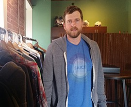 Eric Kleineck, owner and CEO of Sauce Hockey, opened the company's first brick and mortar store in Tempe in 2014.