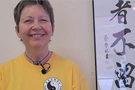 Patricia Bates took up Tai Chi when she developed back problems in middle age. She now teaches the martial art at the Scottsdale Taoist Tai Chi Center.