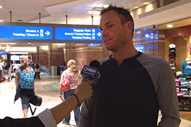 Traveling through Phoenix Sky Harbor International Airport on Monday, Hamilton Baiden said he's going to need to renew his passport if Arizona doesn't offer a driver's license that complies with the REAL ID Act of 2005.