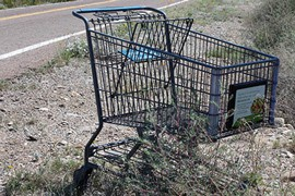 Arizona's open desert is a magnet for those looking to dump items such as refrigerators, sofas and other large items that people don't want to transport to landfills – and perhaps more importantly, pay to dispose of at landfills. And remote La Paz County has plenty of open desert, in addition to being a magnet for those wishing to camp and ride off-highway vehicles.