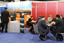 Representatives of Arizona business and economic development groups met with foreign investors from Turkey, China, Canada and beyond at the two-day investment summit in National Harbor.
