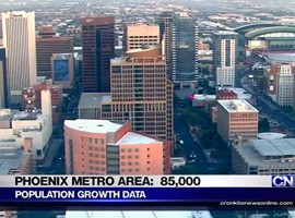 The latest Census estimates say population gains from 2013 to 2014 in Maricopa County and the Phoenix metro area were among the highest in the country. But not all experts were ready to say that the increases reflect an improving economy for the state.